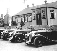 1934 Aero Minx with the Police