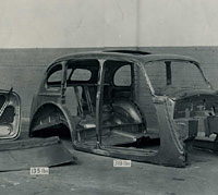 Hillman 14hp car body