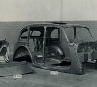 Hillman 14hp car body