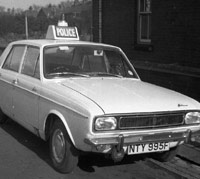 Police version of the Hillman Hunter car