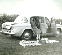 Picnic time for the Hillman's owners