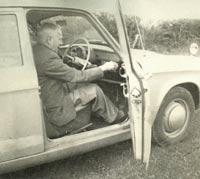 Tuning the Minx's car radio