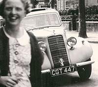1936 Hillman Minx car