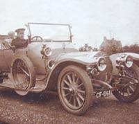 Vintage Hotchkiss car