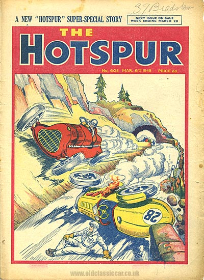 Hotspur comic from 1948