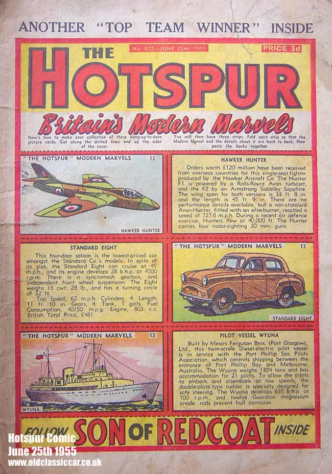 Hotspur children's comic