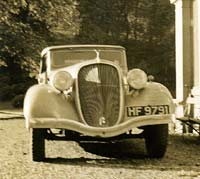 Front view of the Terraplane