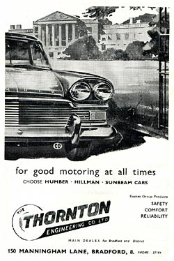 Advert for the Humber Super Snipe