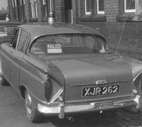 Rear view of the Humber Sceptre
