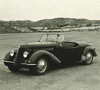 An Imperia TA8 roadster