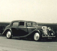 Post-war 1947 Jaguar 1.5 litre saloon