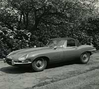 Another E-Type roadster