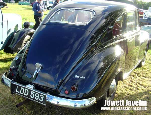 Jowett Javelin Car Jowett Javelin Seen at a Show