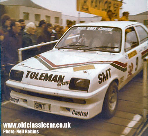 Jimmy McRae in his Chevette