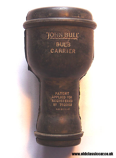 Bulb carrier by John Bull Ltd