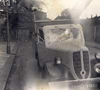 Jowett Bradford pickup truck