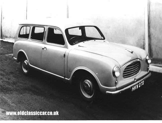 Jowett CD estate car