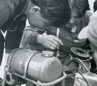 Fixing the engine