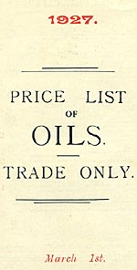 Langol Oils price list