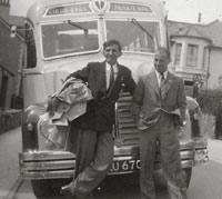 Leyland Comet coach
