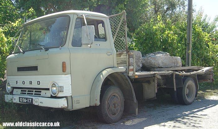 Old Ford lorry of the 1960s