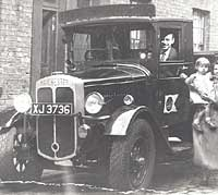 1930s Manchester coal lorry