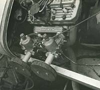 Lotus car engine
