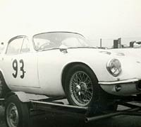 Type 14 Lotus Elite racing car