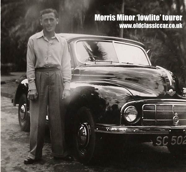 Morris Minor tourer/convertible