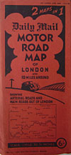 Motor map for London