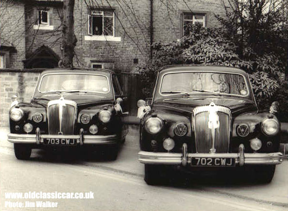 Two Daimler Majestic Major Limousines - DR450