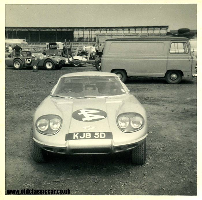 Another Marcos at the same race meeting