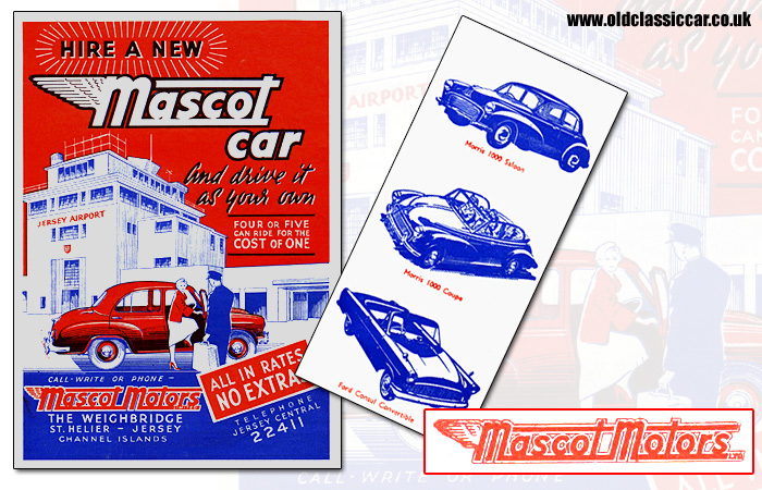 Hire a car from Mascot Motors