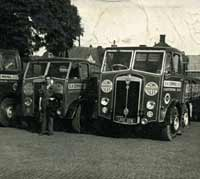 Post-war Maudslay lorries