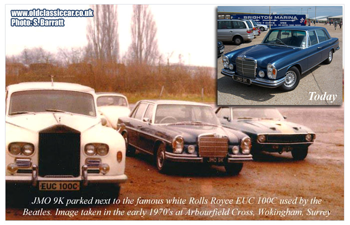 Rolls-Royce EUC 100C and the 1971 Mercedes.