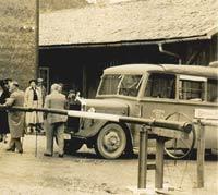 Pre-war Mercedes Benz coach