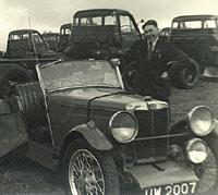 A one-off MG sportscar