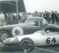 MGA Twin-Cam roadster prepared for racing