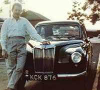 Colour photo of the MG