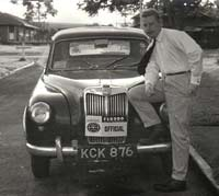 Classic MG Magnette car photo