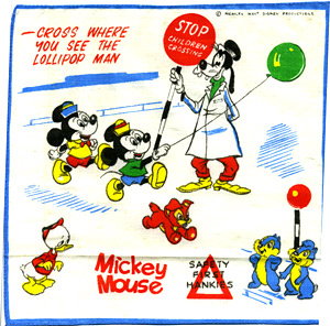 Mickey Mouse hankie no.2