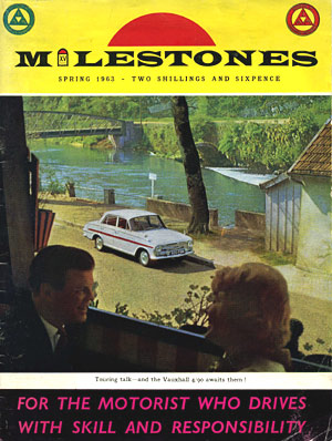Cover of Milestones magazine, Spring 1963