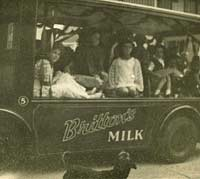 Britton's Milk float