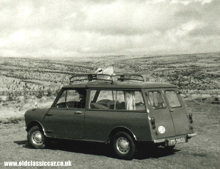 An Austin Mini Countryman estate of 1966
