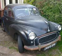 Update on this Morris Minor