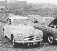 Morris Minor 1000 4dr saloon car