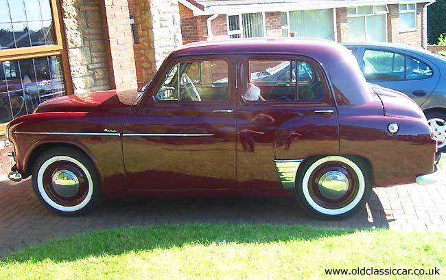 1950s Hillman Minx Mk7 1954