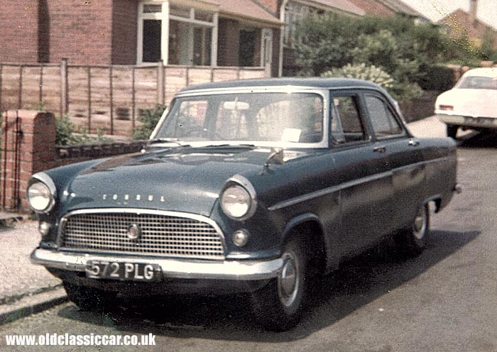Colour picture of a Mk2 Consul