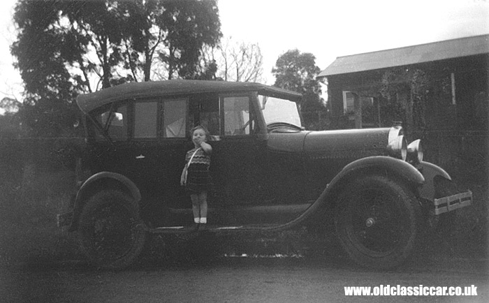A Ford Model A in Australia