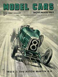 cover of Model Cars magazine